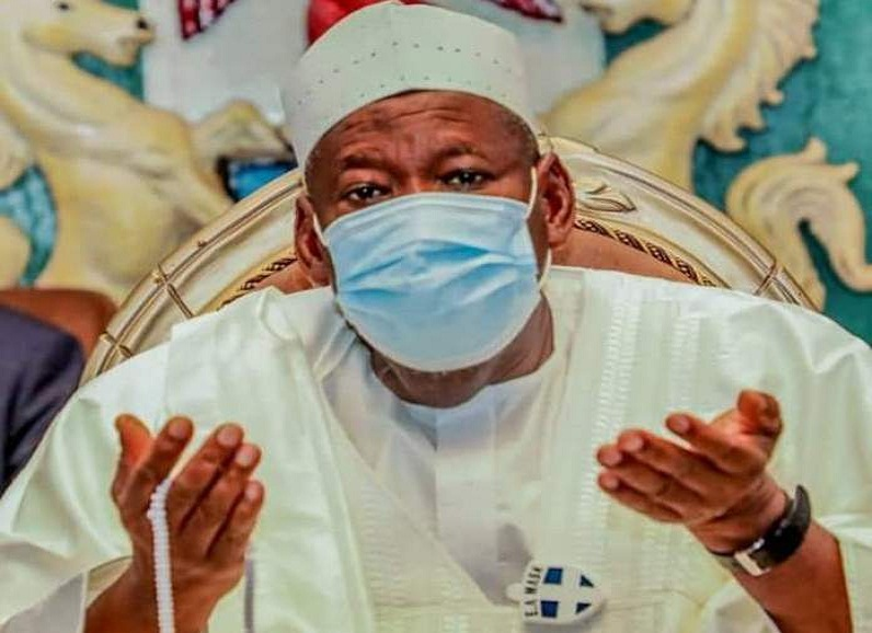 Ganduje commiserates with Dr Bunkure, Fatahi over father's death