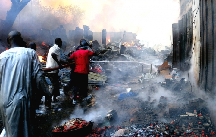 Sokoto fire claims 6, destroys N1.1bn property