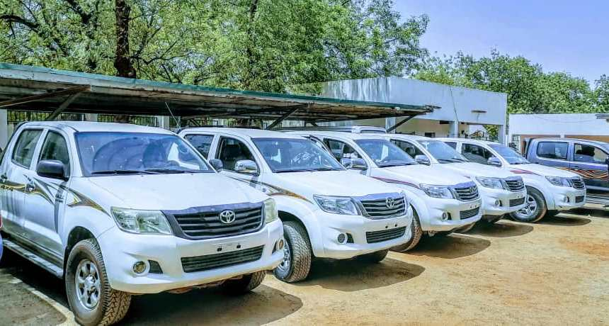 Insecurity: Kebbi donates 10 Vehicles, 30 motorcycles to police