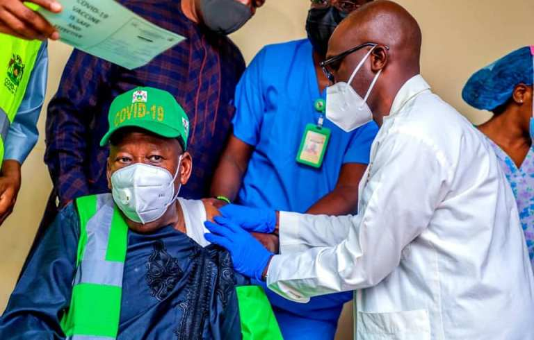 COVID-19 vaccine : Ganduje to Flag-off exercise,get own shot