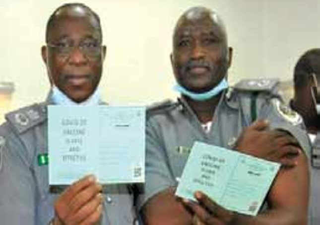 Customs officers in Kano vaccinated