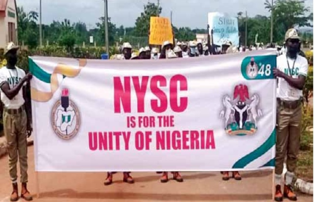 In Sokoto: Corp members stage peaceful match to mark anniversary